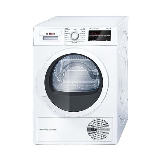 26ea92e162a104 Bosch Serie 6 WTW85468II Libera installazione Carica frontale 8kg A++  Bianco asciugatrice: Amazon.it: Grandi elettrodomestici