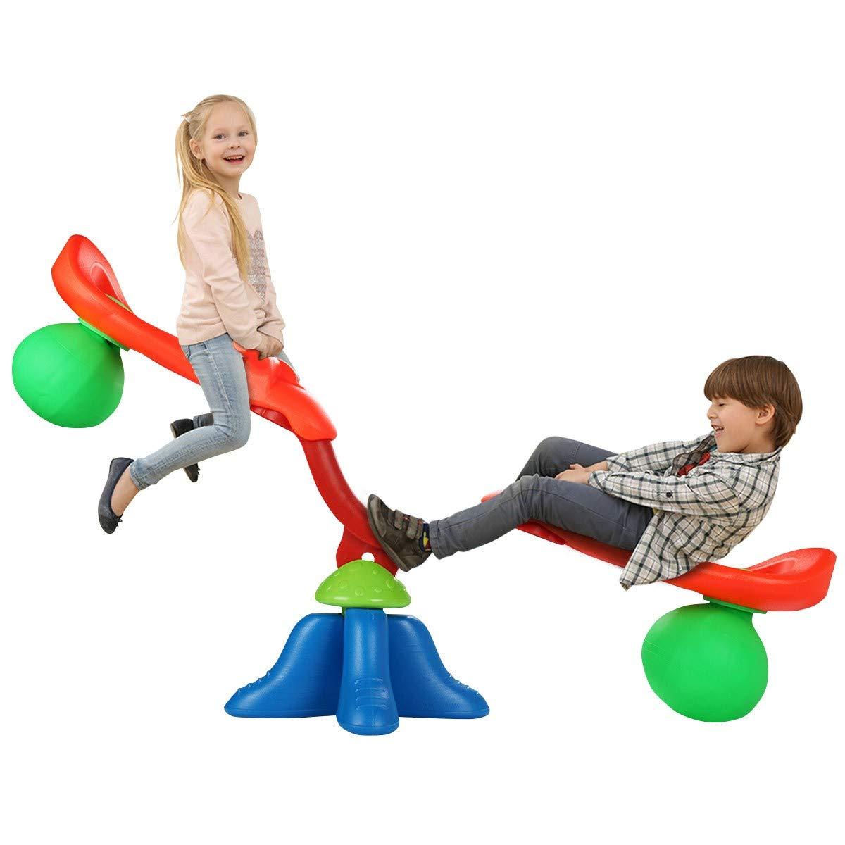 Abbeydh Kids Seesaw 360 Degree Spinning Teeter by Abbeydh