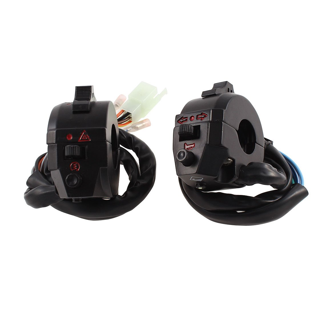 uxcell Motorcycle Emergency Light Starting Switch Set by uxcell