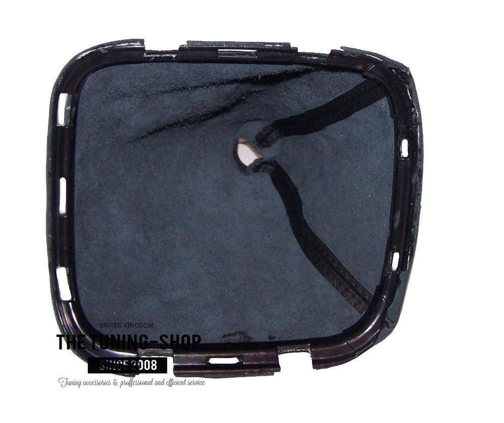 Kunststoff-Rahmen schwarzes Leder Schaltsack mit Schaltmanschette