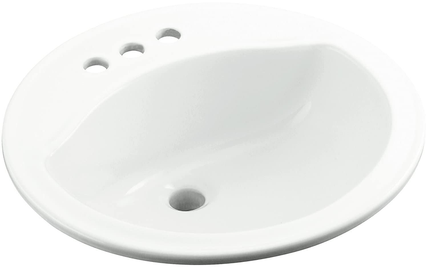 Charmant Sterling 441904 0 Modesto 19 Inch By 19 Inch By 8 Inch Round Lavatory,  White   Vessel Sinks   Amazon.com