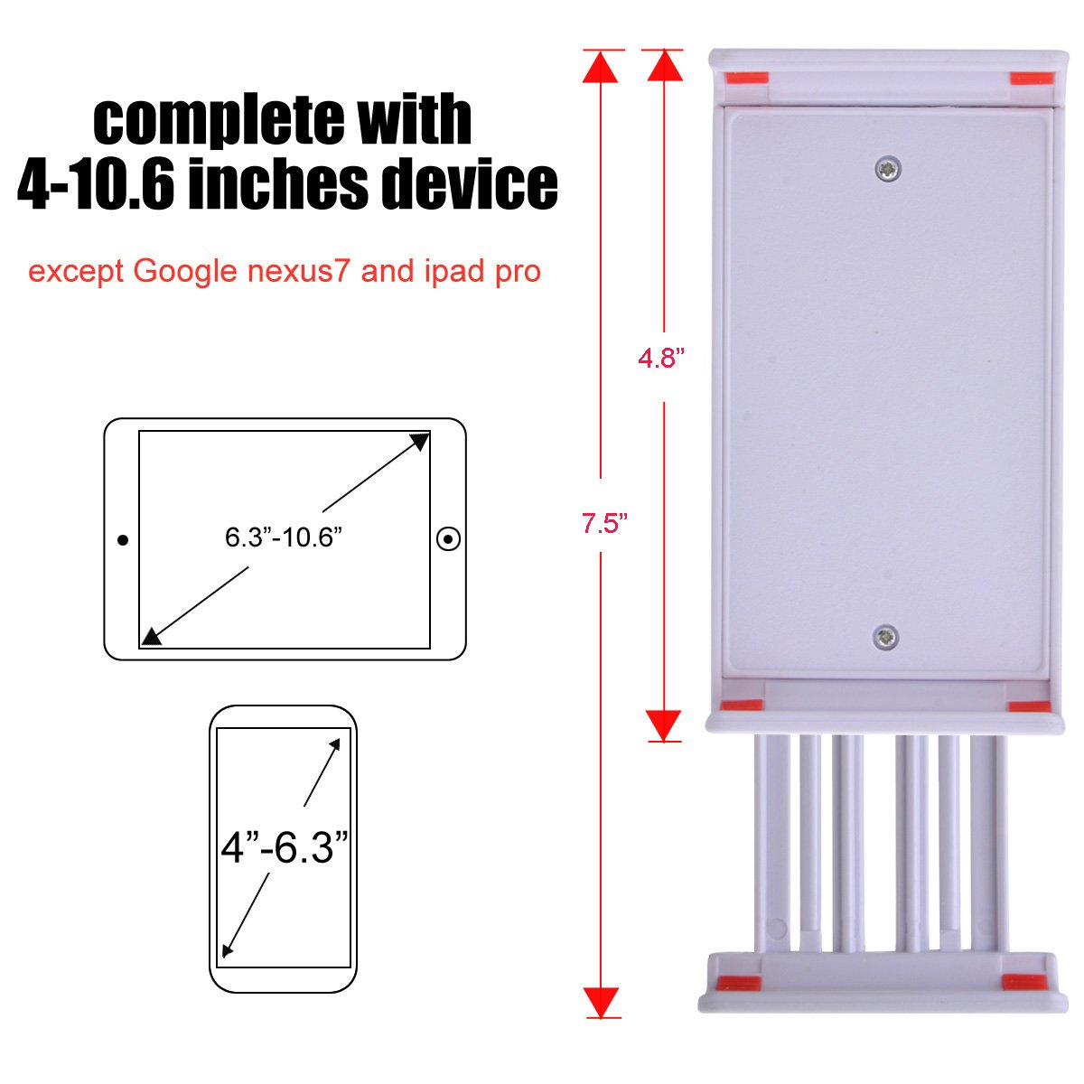 Tablet Stand,Phone Holder,39.3\