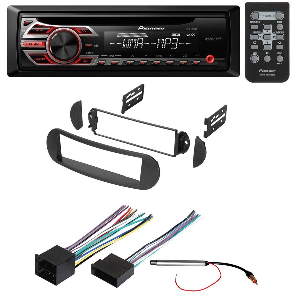 Car Stereo Radio Receiver Dash Installation Mounting Wiring Harness For 2004 Vw Beetle Kit W And Antenna Adapter Select Volkswagen Vehicles