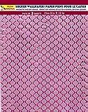 Magnetic Locker Wallpaper (Full Sheet Magnetic) Dry Erasable - Glitter Sparkles Designs, Embossed Foil - Pack of 3 Sheets - v6n