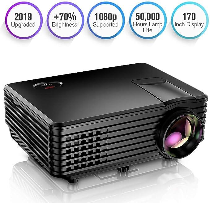 Proyector, Mini Proyector TENKER RD805, Portable Home Cinema HD ...