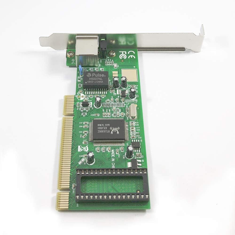 Amazon.com: x-media xm-na3500 Gigabit PCI Adaptador de red ...