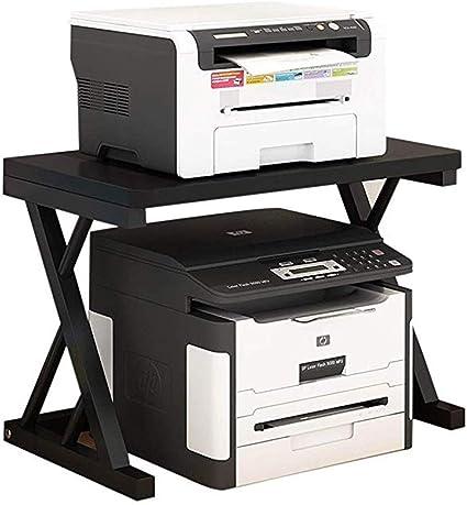 Soporte de máquina de fax Impresora Fax Estante de la Mesa se ...