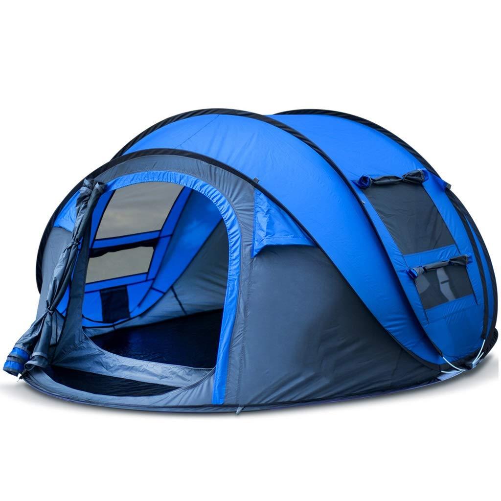 LYX Außenzelt Automatische Zelt 3-4 Personen Geschwindigkeit Offene Rechnung Camping Outdoor-Lieferungen Camping Tourist Zelt Camping Reisen