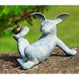 SPI Home 33674 Playful Rabbit Garden Sculpture For Sale