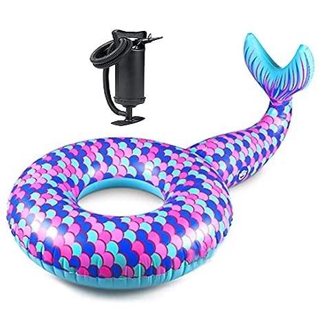 Colchonetas y juguetes hinchables Cama Inflable Sirena ...