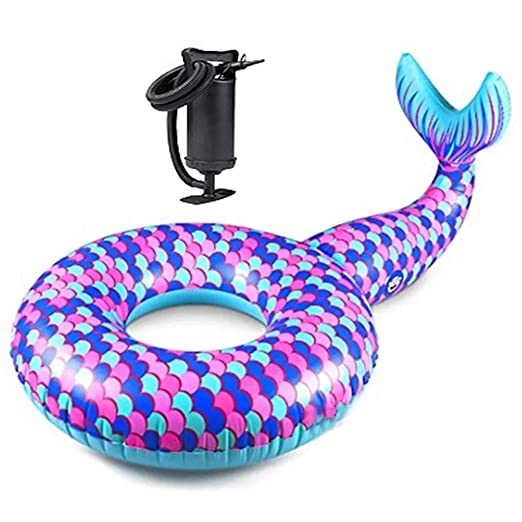 Colchonetas y juguetes hinchables Cama Inflable Sirena Inflable ...