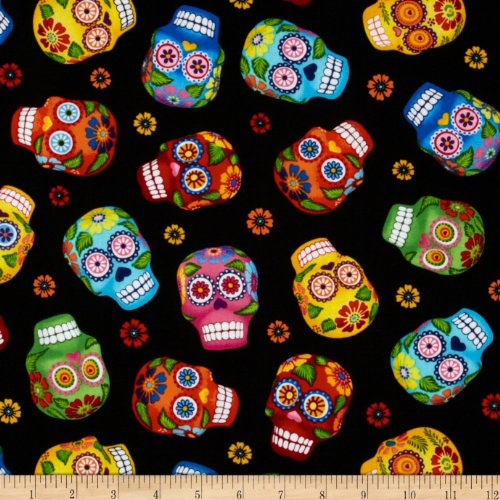 Timeless Treasures 0316328 Cantina Skulls Fabric by The