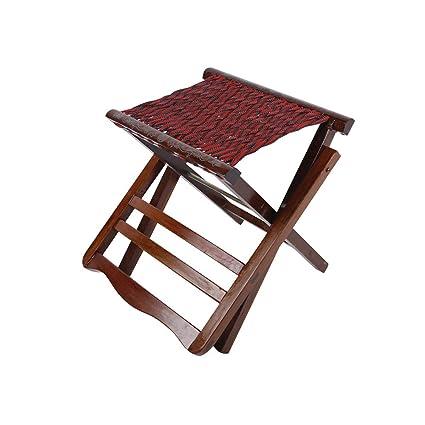 Cool Amazon Com Qidi Outdoor Folding Stool Small Bench Portable Bralicious Painted Fabric Chair Ideas Braliciousco