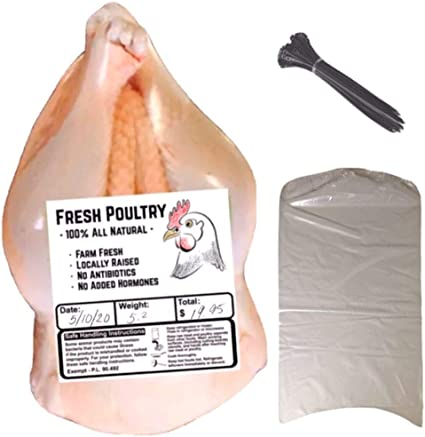 "50 PK OF 10/""x10/"" POULTRY SHRINK BAGS BPA//BPS FREE FREEZER SAFE 3 MIL"