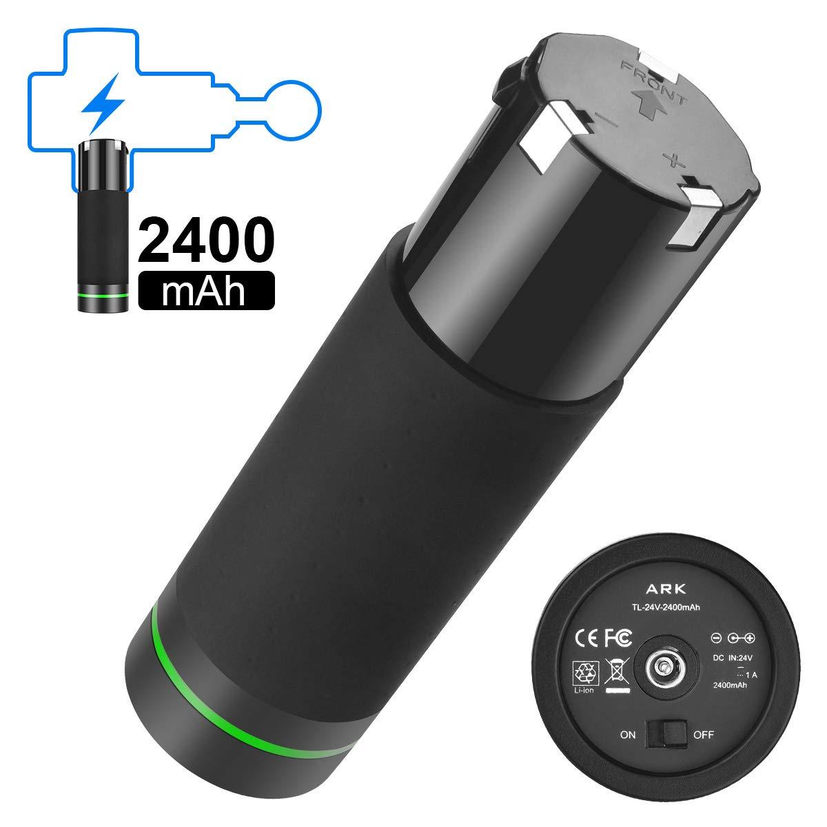 Fascia Massage Gun Battery,2400mah 24V 1A Battery for Rechargeable Deep Tissue Massager&Muscle Portable Massage by yotakoya