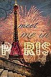 Trends International Meet Me In Paris Wall Poster 22.375