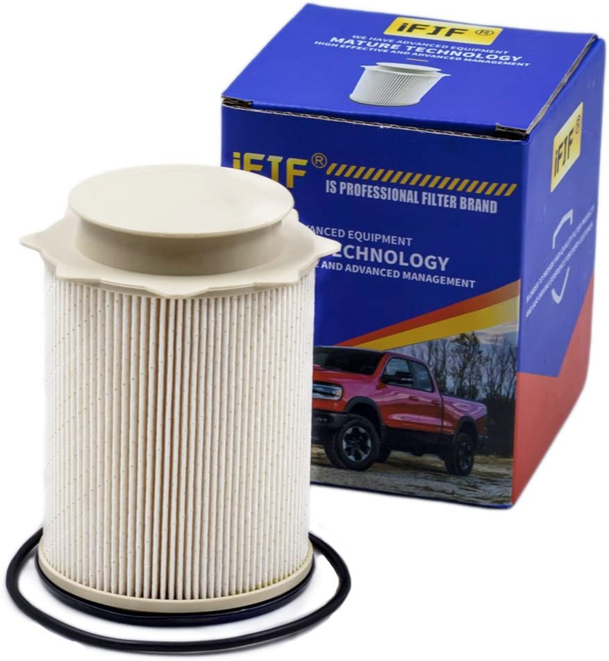 amazon com fuel filters replacement parts automotive Donaldson Engine Air Filter fuel filter 68157291aa for 2010 2017 dodge ram 2500, 3500, 4500, 5500