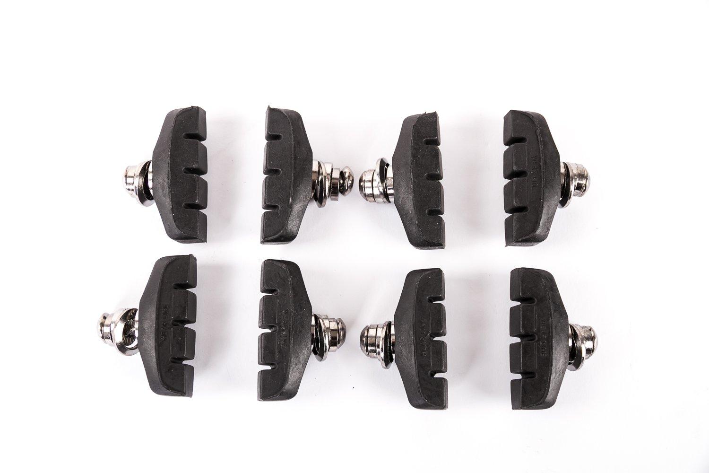 4x Bremsen Set Bremsschuhe Bremsbeläge für Cantilever-Bremsen 2 Paar SCH