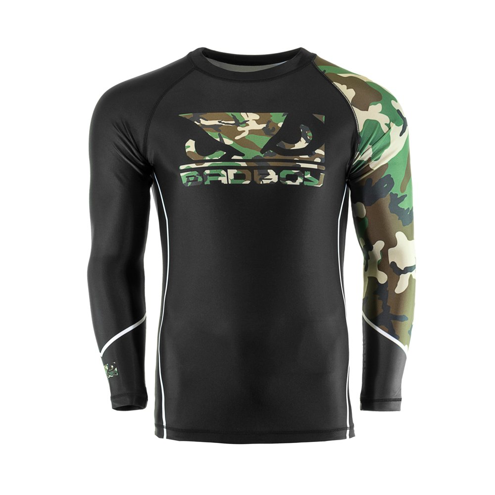 Bad Boy MMA Soldier MMA Forest Camo B0795Y4W9P Rash Guard Large Forest B0795Y4W9P, ジュエリーショップ はな:1d5f72cb --- capela.dominiotemporario.com