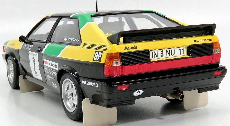 Minichamps 1/18 Diecast 155 811122 Audi Quattro Rallye Des 1000 Pistes 1981: Amazon.es: Juguetes y juegos
