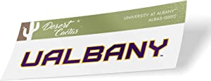 University at Albany UALBANY Great Danes SUNY NCAA Vinyl Decal Laptop Water Bottle Car Scrapbook (Sticker - 00012)