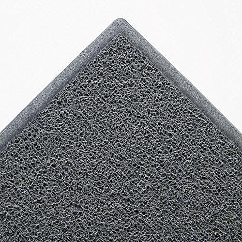 3M 34838 Dirt Stop Scraper Mat, Polypropylene, 36 x 60, Slate Gray