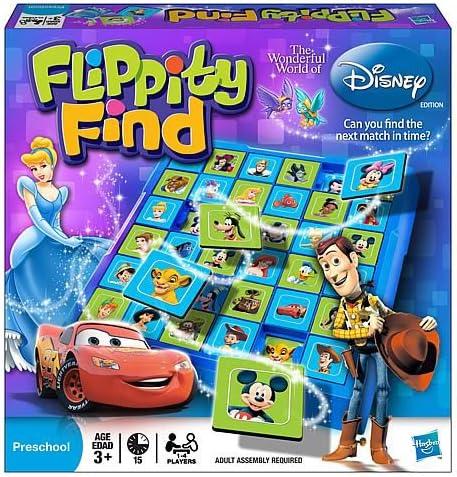 The Wonderful World of Disney   Flippity Find Board Game: Amazon ...