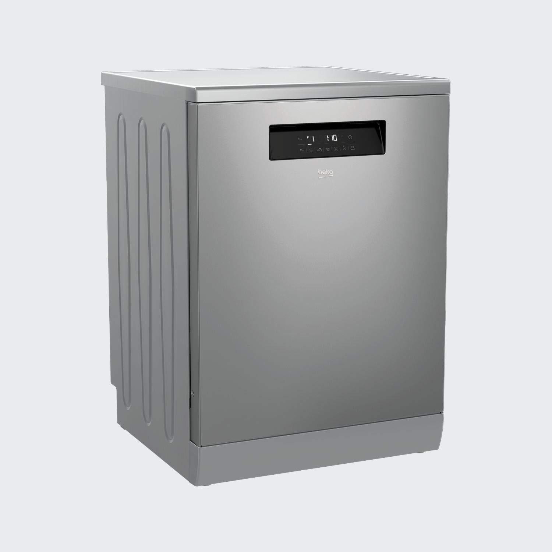 Beko DFN38530X lavavajilla Independiente 15 cubiertos A+++ - Lavavajillas (Independiente, Acero inoxidable, Tamaño completo (60 cm), Tocar, LCD, ...