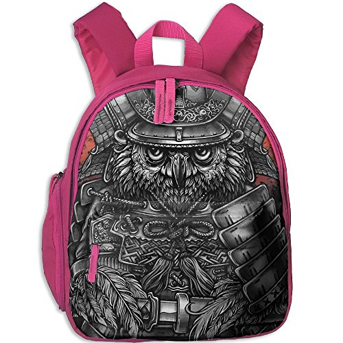 HYF Kids Owl Army General Snack Backpack Children Preschool Mini Rucksack Lunch Boxes Carry Bag ()