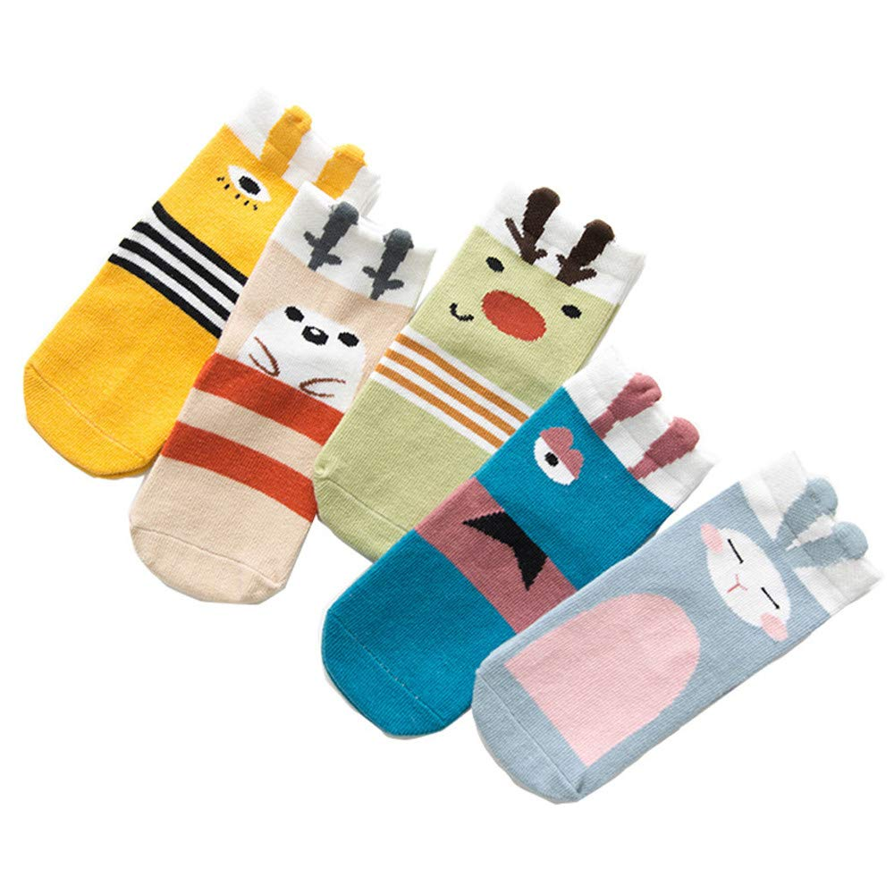 Kids Toddlers Girls Animal Knee High Long Soft Cotton baby Socks New Kids for 3-12 Years