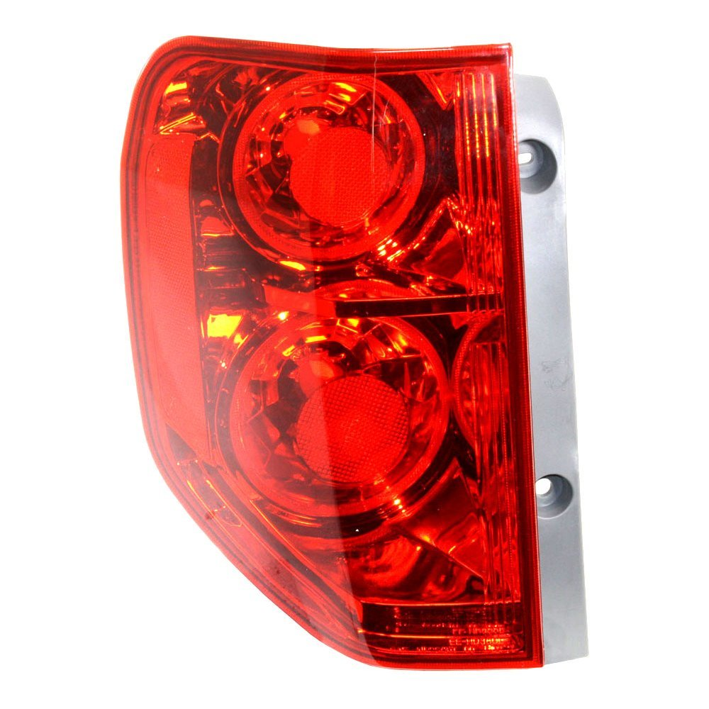 Evan-Fischer EVA15672041632 Tail Light for Honda Pilot 03-05 Assembly Left Side 4333004402