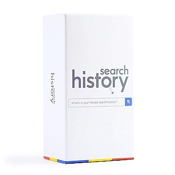 Search History Juego de Cartas - el Juego de Partido de Búsquedas sorprendentes [Todas Las Edades/Edición Familiar]: Amazon.es: Juguetes y juegos