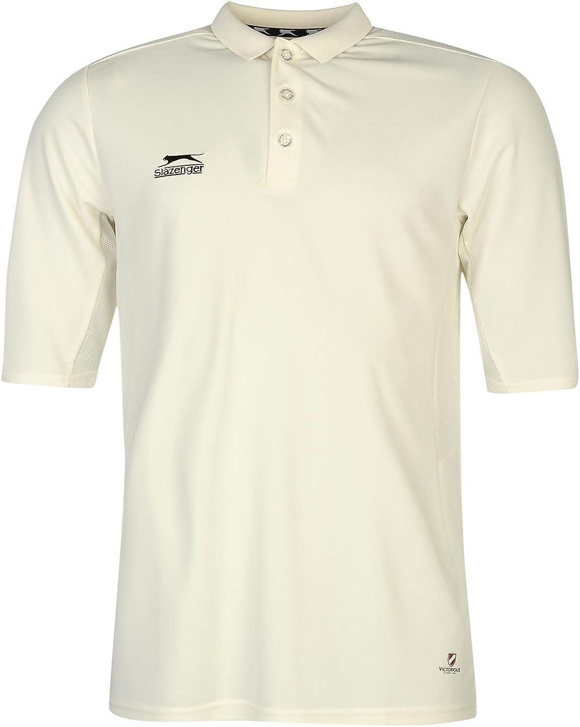Slazenger Hombre Camisa De Cricket Mangas DE 3/4: Amazon.es: Ropa ...