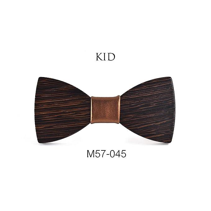 Black-Sky Tamaño pequeño Niños pajaritas de madera los niños del ...