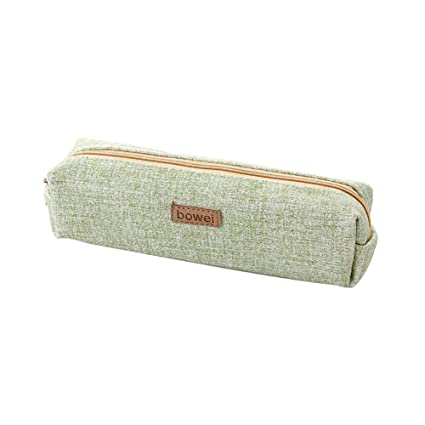 Amazon.com : Kanggest Classic Canvas Student Pen Pencil Case ...