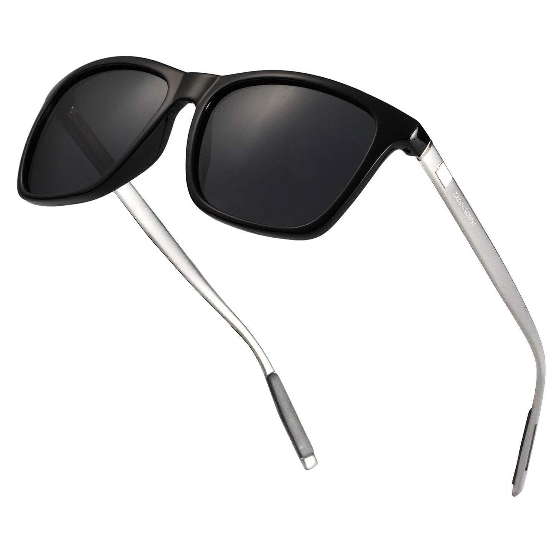 LEDING&BEST Gafas de sol deportivas polarizadas UV400,Gafas de Sol Para Colocar Sobre las Gafas Normales y de Lectura Hombre Mujer