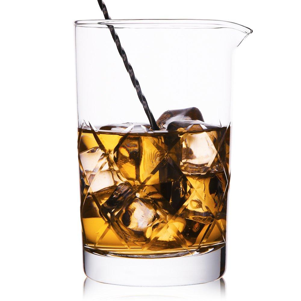 Hiware cocktail stirring glass