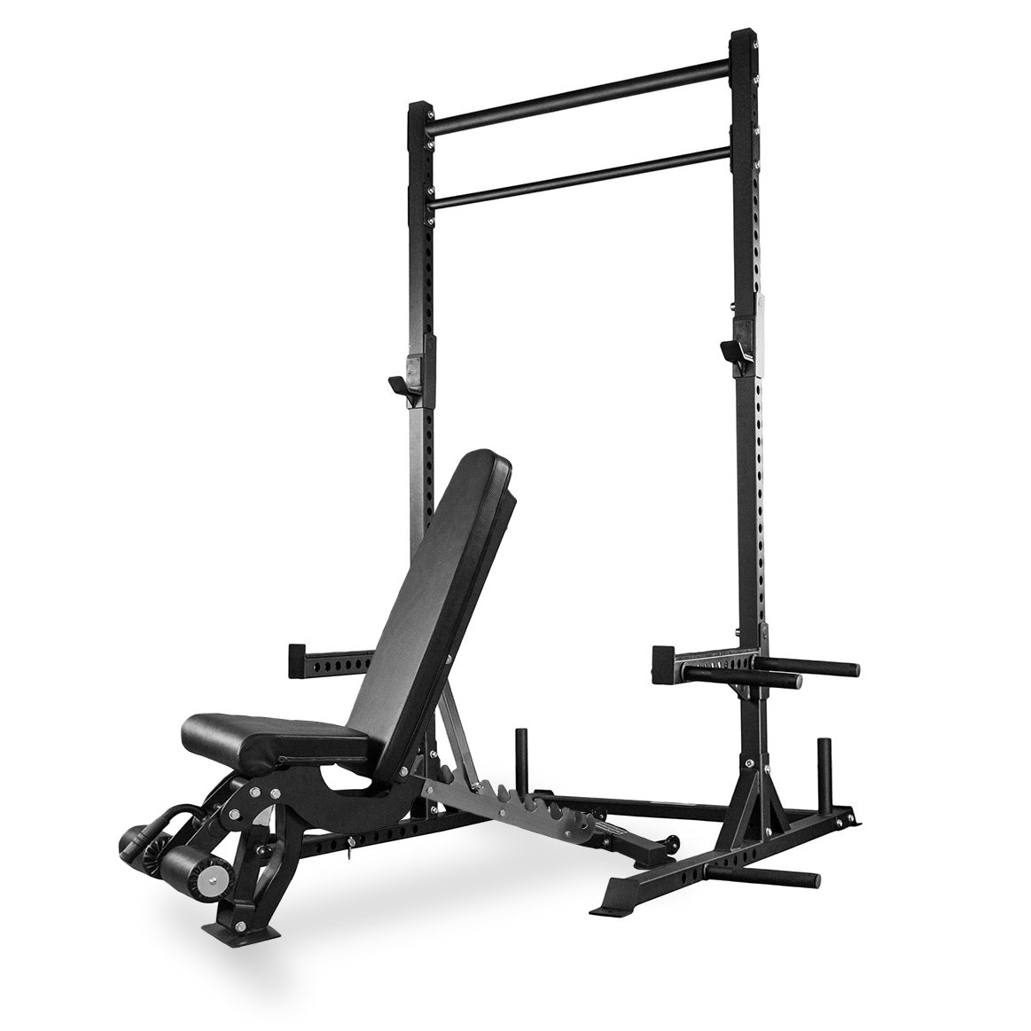Rep Squat Rack with Pull Up Bar and Adjustable Bench - 110 in
