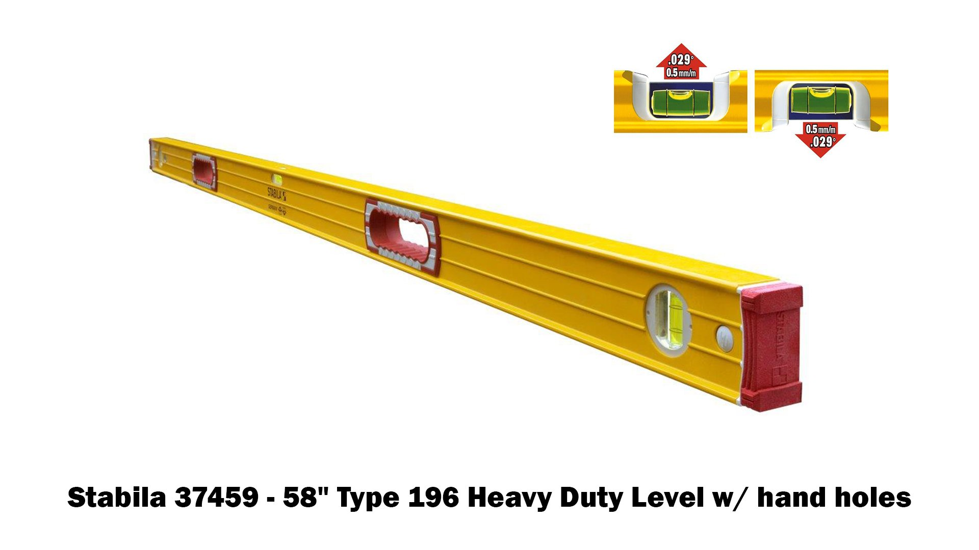 Stabila 196 Level Set Kit - 78''/58''/32''/24''/16'' Torpedo and Case by Stabila (Image #5)