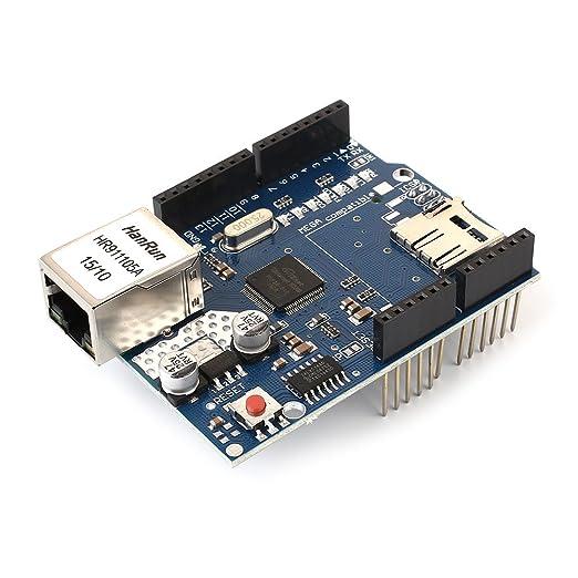 Tarjeta de expansión de red Ethernet W5100 para Arduino Mega ...