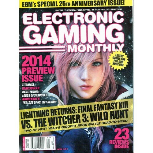 Electronic Gaming Monthly Magazine 262.0 - Winter 2014