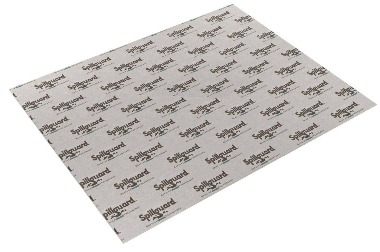 Carpenter, 8'x10', 1/2'' Visco- Elastic Memory Foam, Spillguard DuPont Barrier Rug Pad by Carpenter