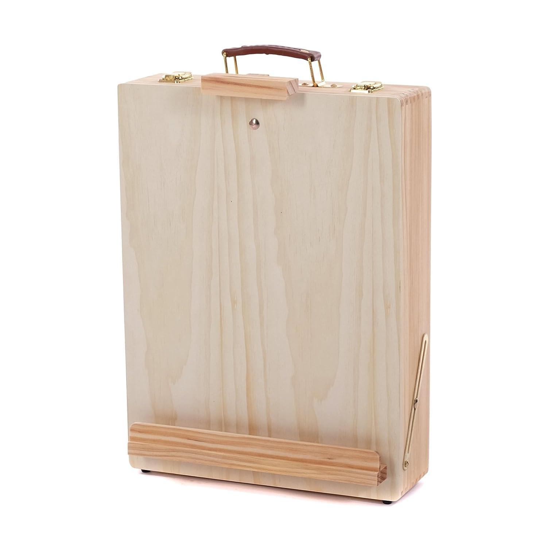 VALIGETTA DA ARTISTA CAVALLETTO DA TAVOLO | 10-86 cm, legno | con vano portaoggetti XTRADEFACTORY GMBH