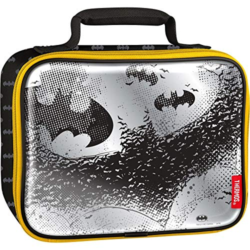 Thermos Soft Lunch Kit, Batman (Batman Lunch Box With Thermos)