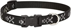 Lupine 3/4-Inch Bling Bonz 9-14-Inch Adjustable Collar for Small to Medium Dogs