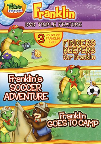 Franklin Triple Feature(Finders Keepers for Franklin / Franklin's Soccer Adventure / Franklin Goes to Camp)