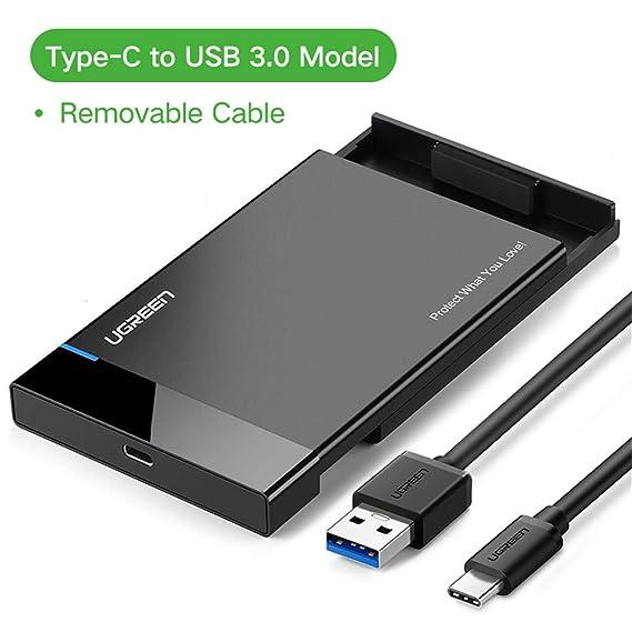 AOEIUV - Carcasa para Disco Duro (2,5 SATA a USB 3.0 ...