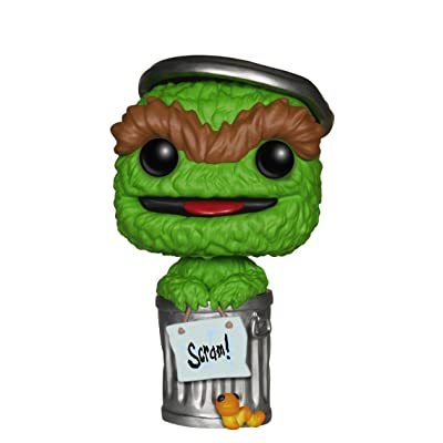 Funko POP TV: Sesame Street Oscar The Grouch Action Figure: Funko Pop! Television:: Toys & Games