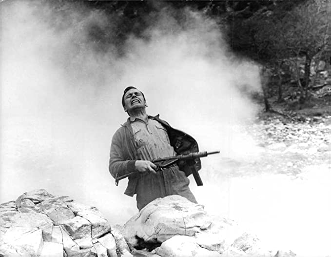Amazon com: Vintage photo of Louis Jean Trinitignant being shot from