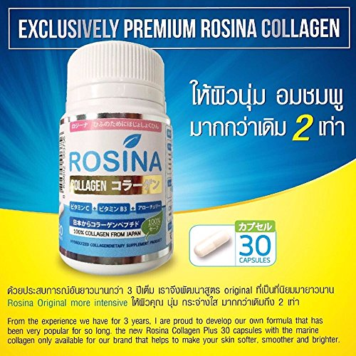 Rosina Collagen Plus 100% Collagen Tripeptide From Japan Rose Hip Whitening